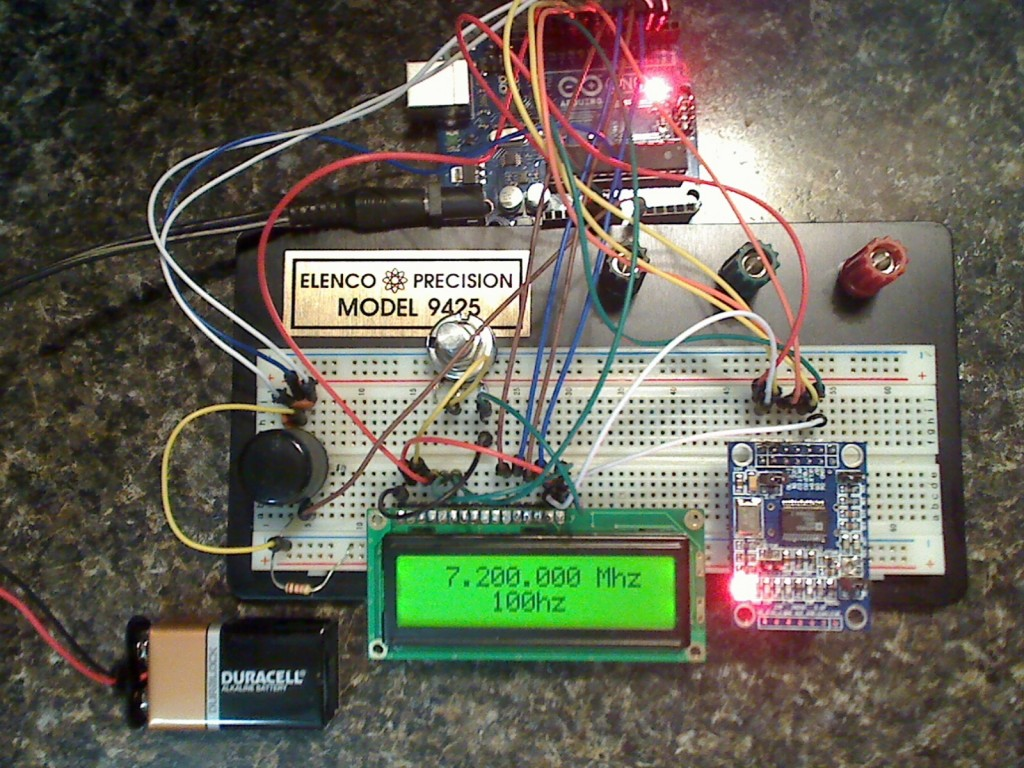 Arduino Tehniq Signal Generator With Ad9850 And Audio Generators Projects Circuits 9 Module We Can Made A Controlled By Rotary Encoder Last Frecvency Stored In Eeprom Base Project Is From